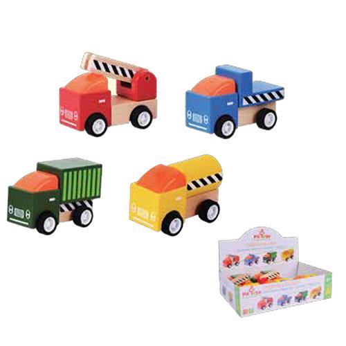 מוצרי עץ מגוון משאיות עץ מעץ - מונטסורי - Mom & Me