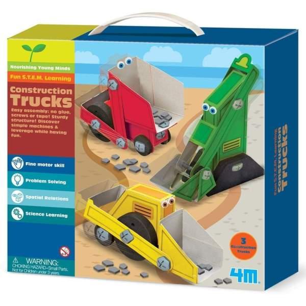 צעצועים רכבי עבודה - Mom & Me