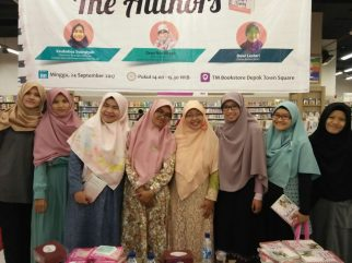 Meet and Greet with the Authors Salihah Mom's Diary-1