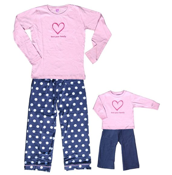 Love Your Family Pajamas Breeze Clothing