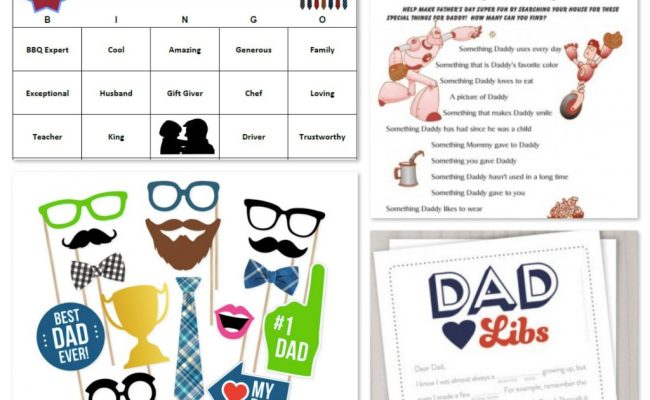 Father Son Matching Game Other Father S Day Printables