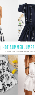 10 Hot Jumpsuits for the Summer