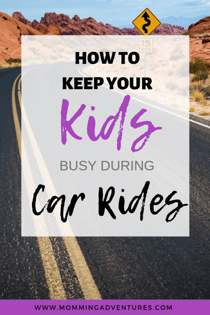 Activities for kids to do during car rides.