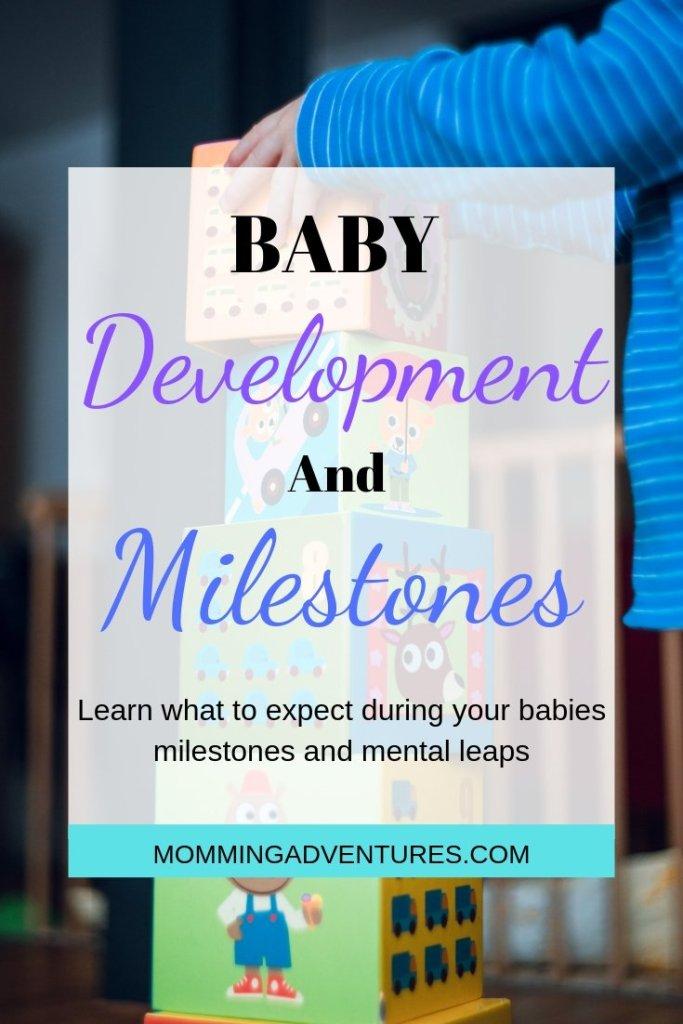 Baby development and milestones