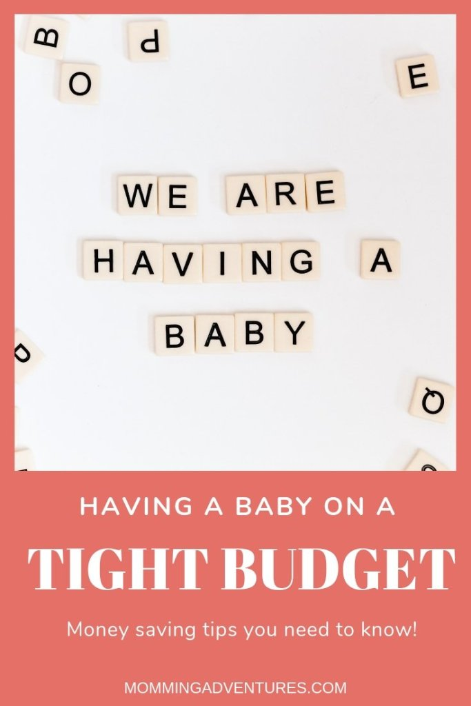 How to save money when having baby