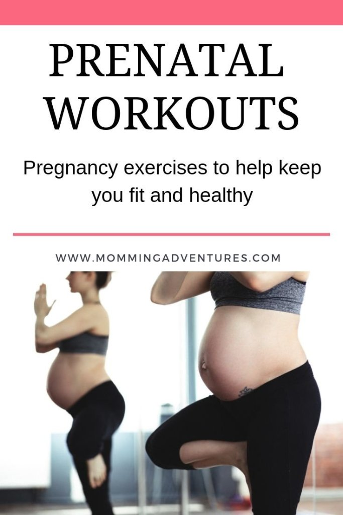 Stay fit during pregnancy with these prenatal exercises that target different areas of your body.