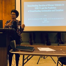Mumba Mumba -To Examine the Breastfeeding Duration of Women Veterans in VISN 15 and the Predictors of Breastfeeding Continuation and Cessation