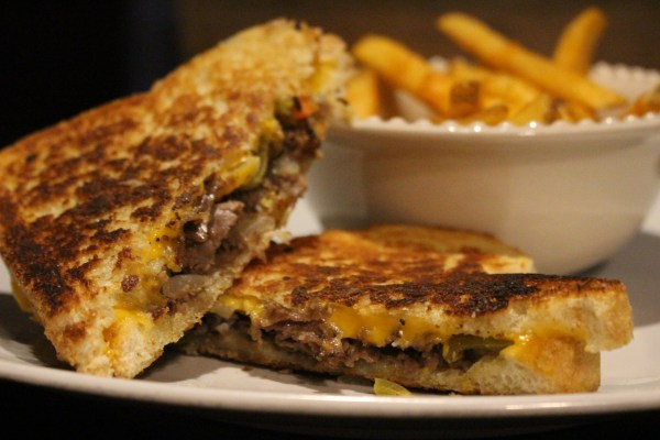 Best Grilled Cheese Ever Italian Beef and Giardiniera Grilled Cheese