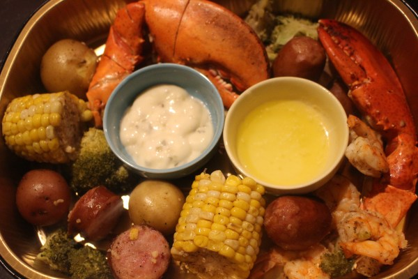 Seafood Boil on a Smoker Grill