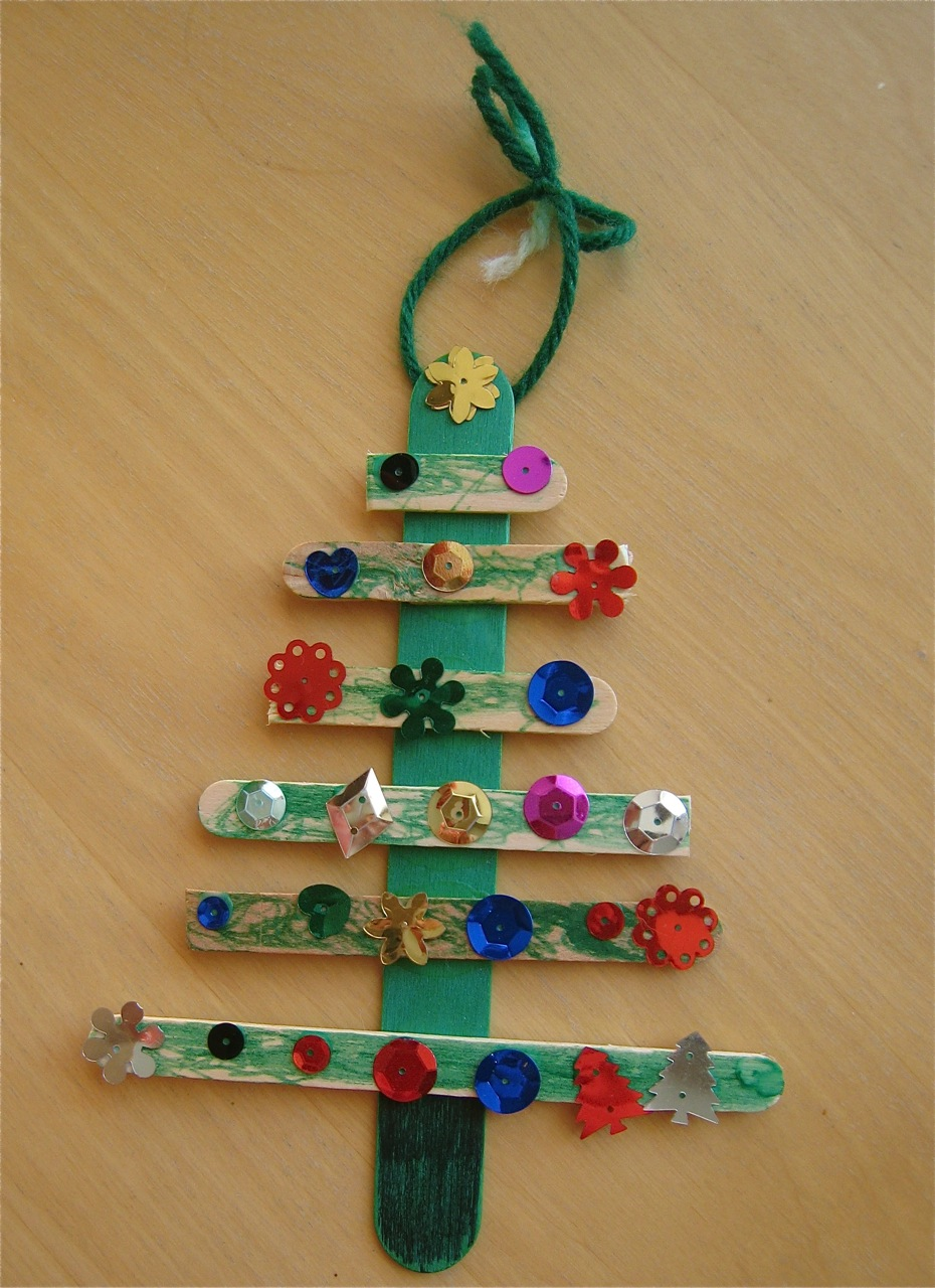 Kindergarten Christmas Ornaments  Invitation Template