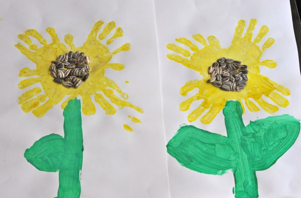 Preschool Handprint Art Projects
