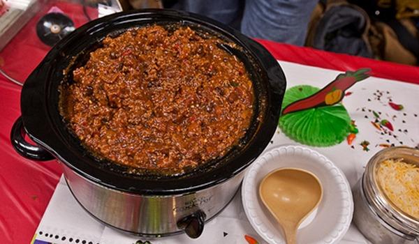 3 meat chili con