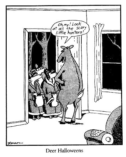 Far Side Birthday Cartoons : birthday, cartoons, Today's, Birthday, Larson,, August, 1950!