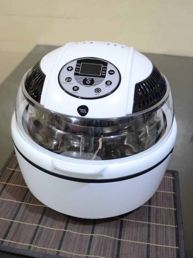 Simple Touch Rotisserie Multi Air Fryer  Fry Foods