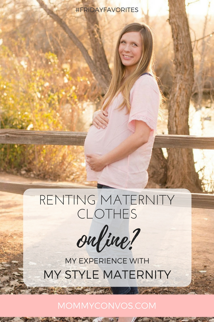 Maternity clothing rental. My style maternity review.