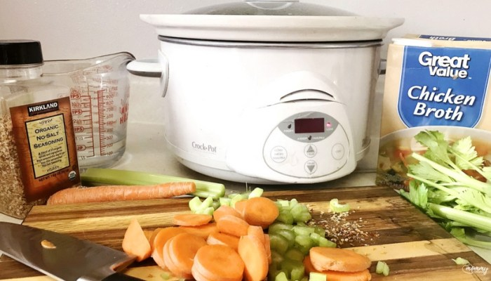 Crock Pot and Recipe Book for a Healthy New Years