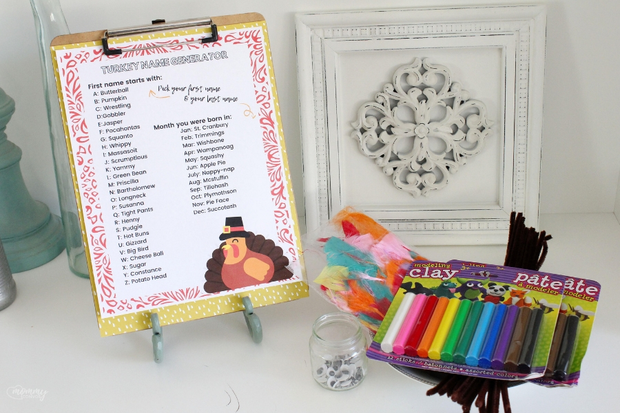 Turkey name generator! fun ideas for kids at thanksgiving dinner. thanksgiving party ideas. last minute thanksgivng party printables. free thanksgiving printable. family traditions, fun ideas for thanksgiving, kid-friendly thanksgiving ideas, thanksgiving, thanksgiving dinner, thanksgiving tradtions, traditions, turkey name printable