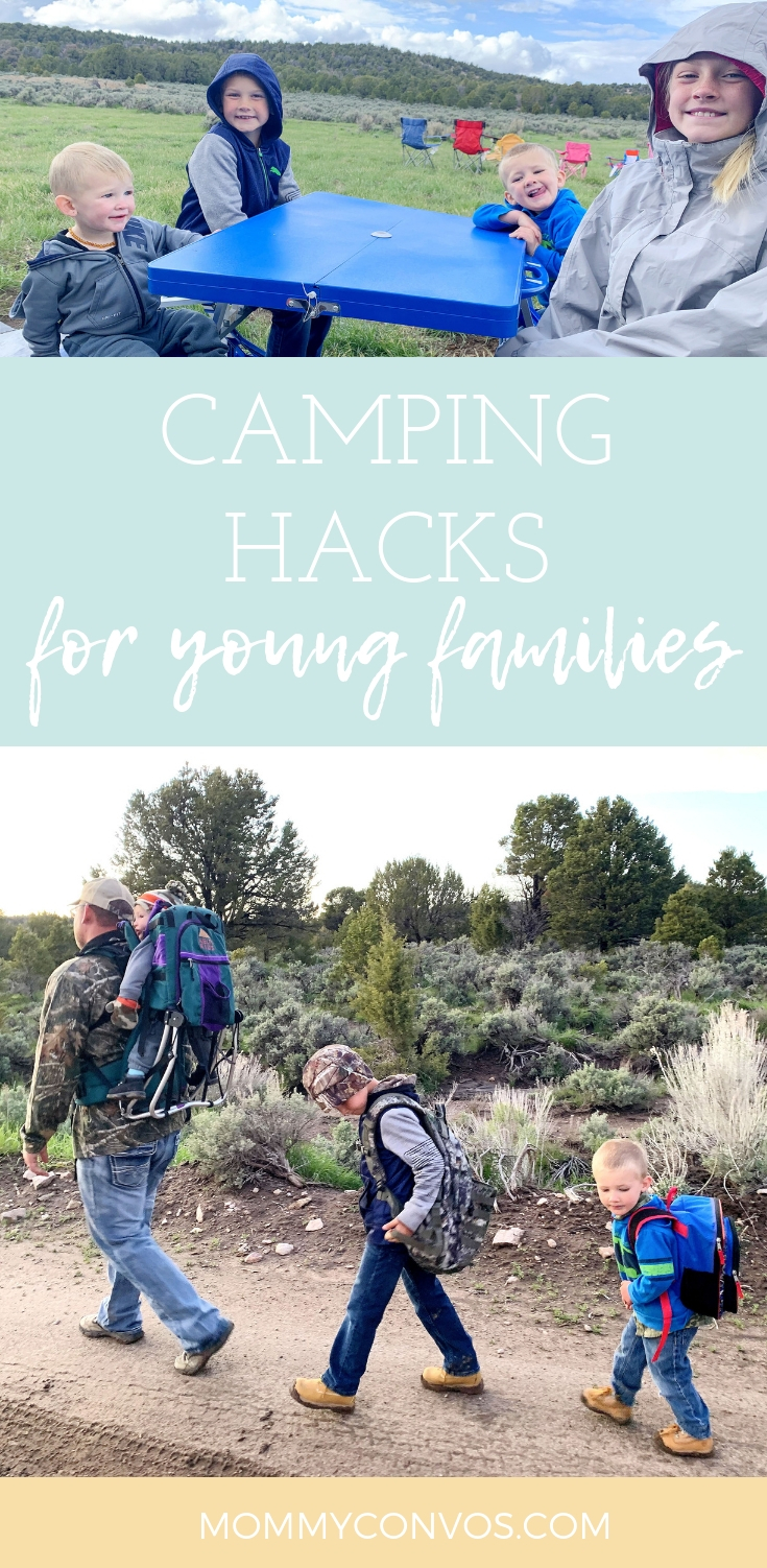 How to enjoy camping as a young families, tips and tricks on how to enjoy camping as a young family, family camping trip, camping hacks, camping tips and tricks, camping with family