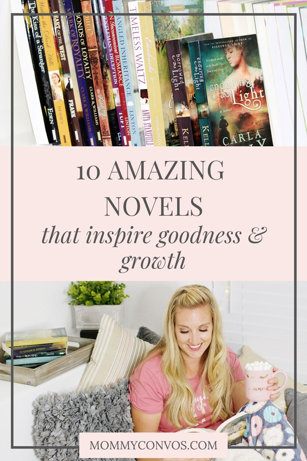 incredible novels that inspire goodness and growth, quarantine favorites, audio book list, top books, best novels, top LDS authors, fiction novels, top rated books for moms, novels that inspire