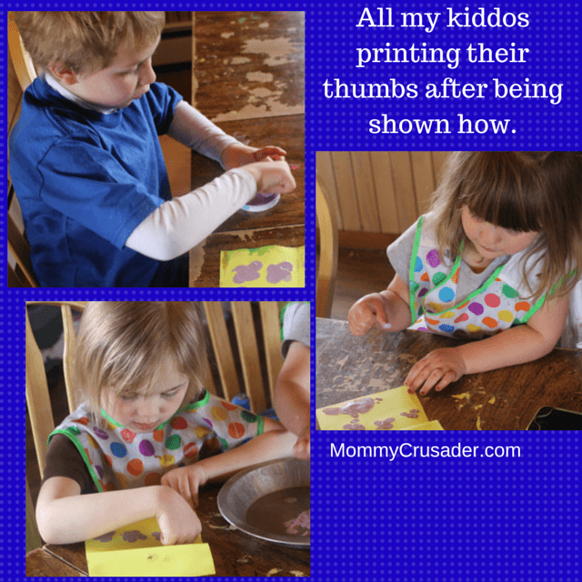 This is a fun, fast craft for any age child. And it makes a great card for Mother's Day.