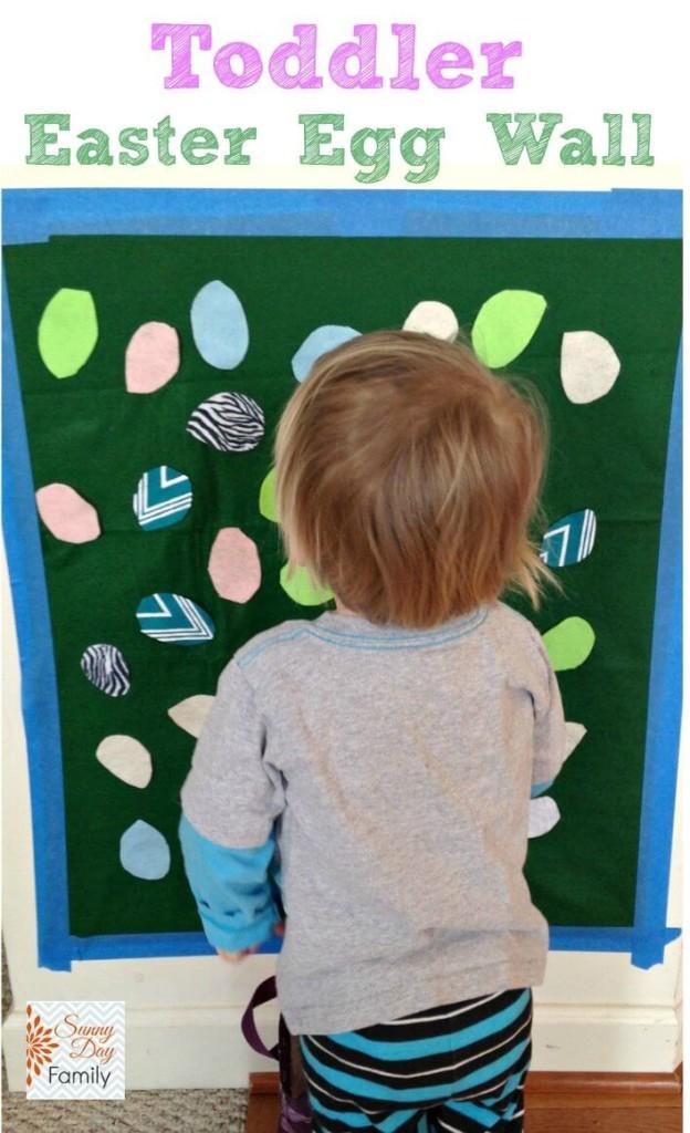 Toddler Easter Egg Wall (1)