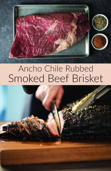 Ancho Chile Rubbed Smoked Beef Brisket Recipe - A Step by Step Guide!
