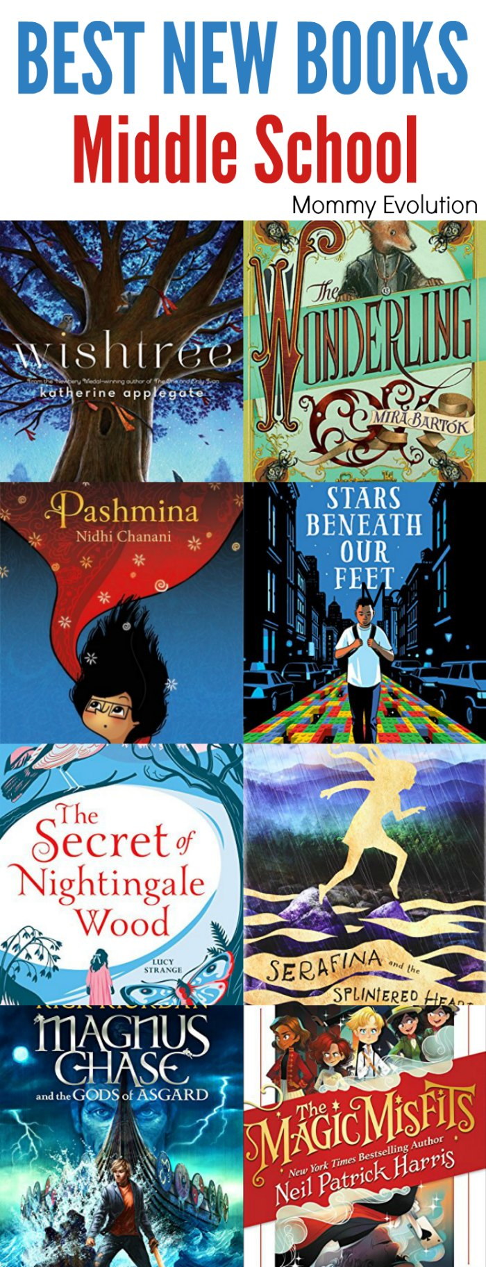 Best New Middle School Books to Read This Year! | Mommy Evolution