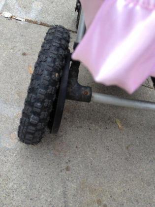 Bugaboo Frog broken wheel