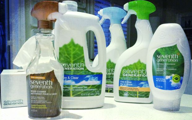 Seventh Generation facial tissue and other eco-friendly products