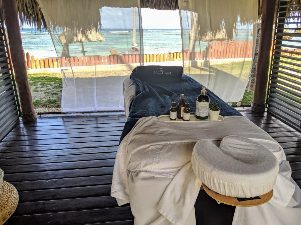 massage on the beach punta cana