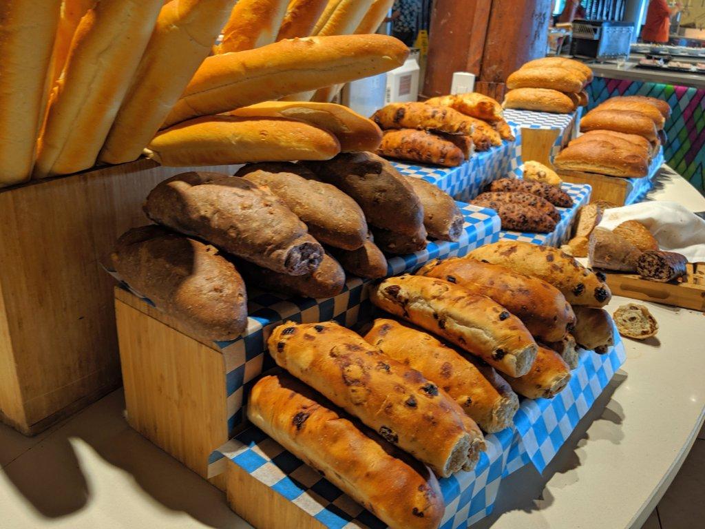 club med's white chocolate bread recipe
