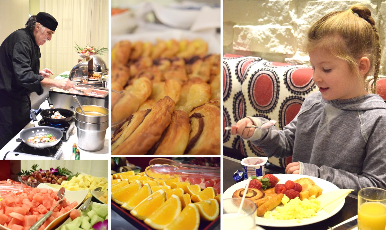 Le Westin Tremblant - breakfast at Gypsy Restaurant