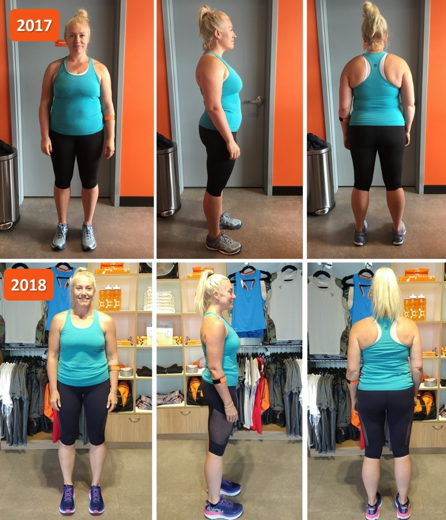 Before and after photos Orangetheory Fitness
