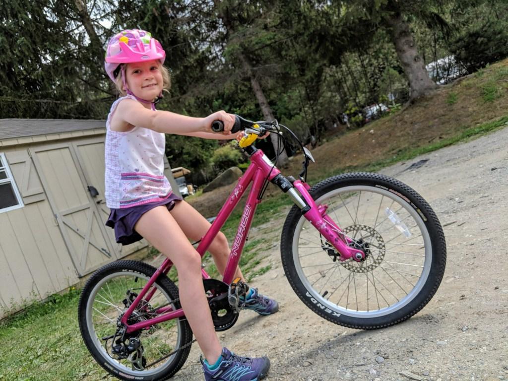 Kids mountain bike camp Smugglers Notch Resort