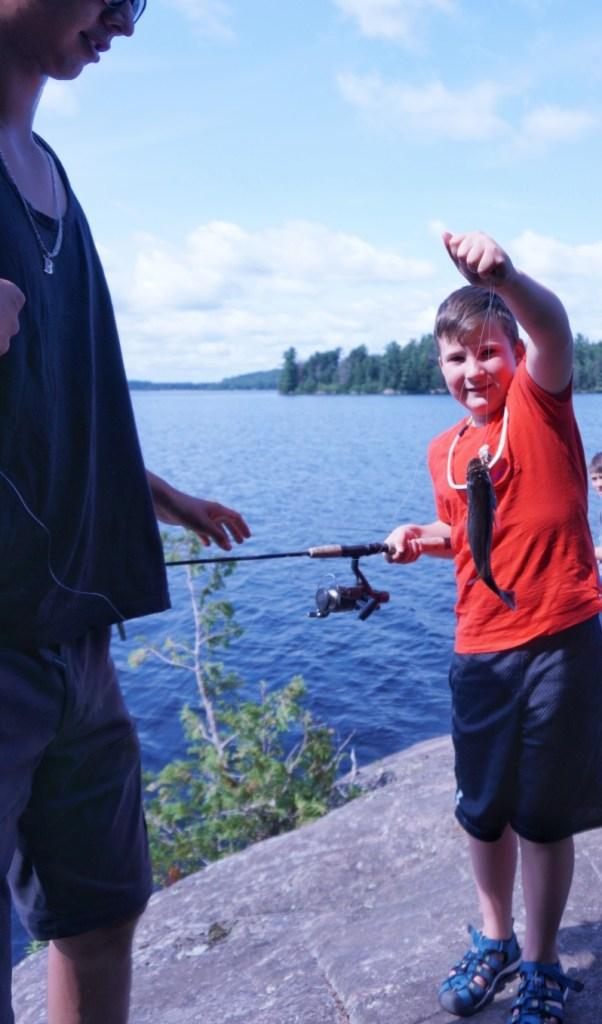 fishing in algonquin park