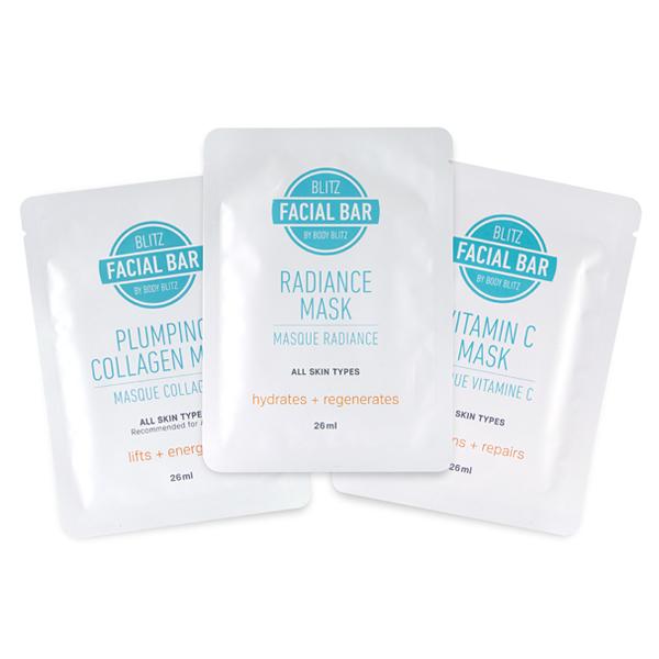 blitz beauty bar sheet masks