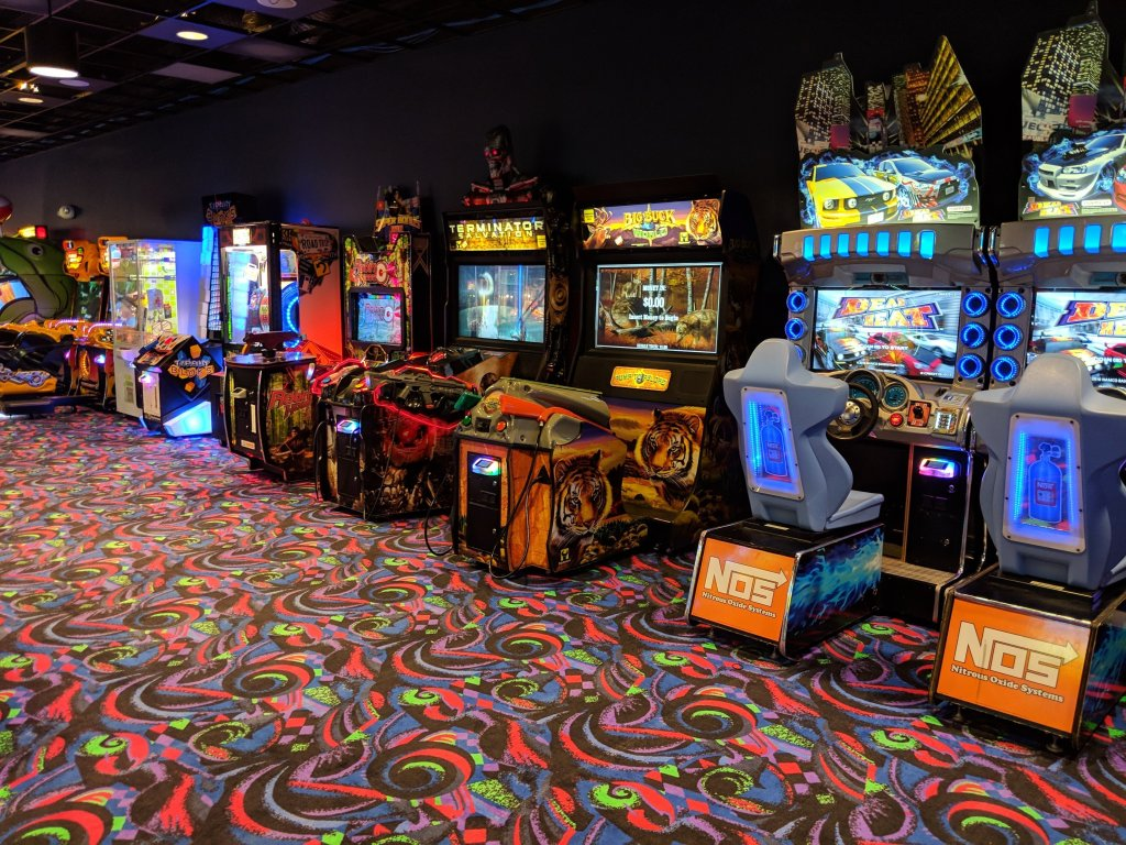 arcades at jay peak resort