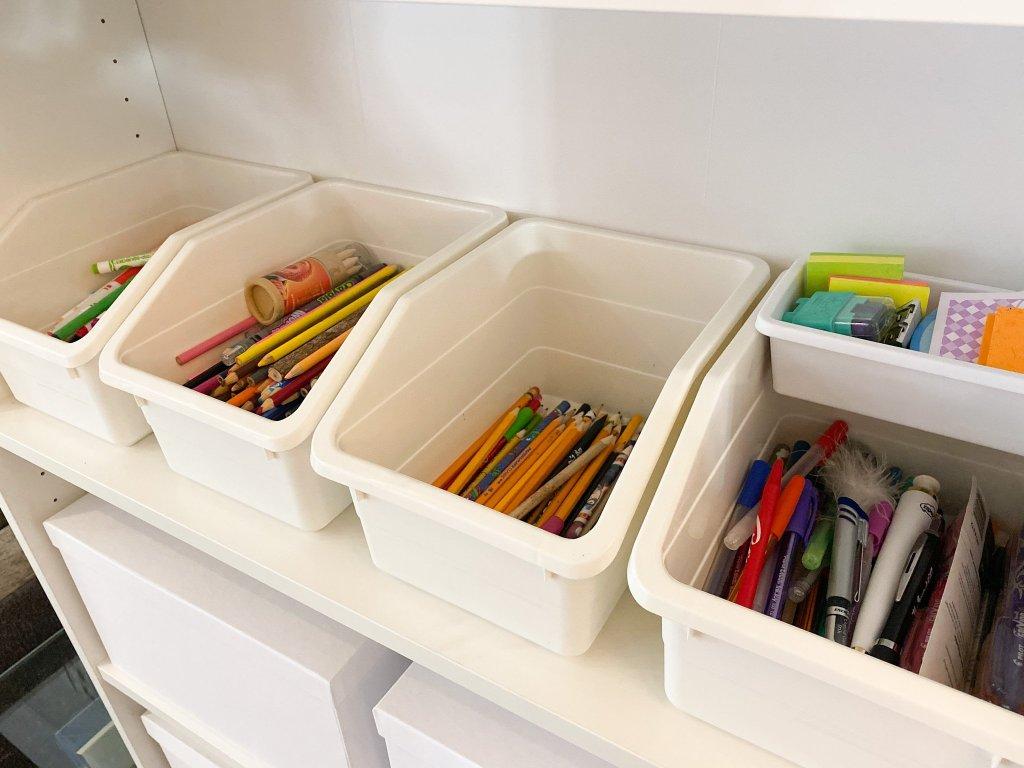organization for homeschooling