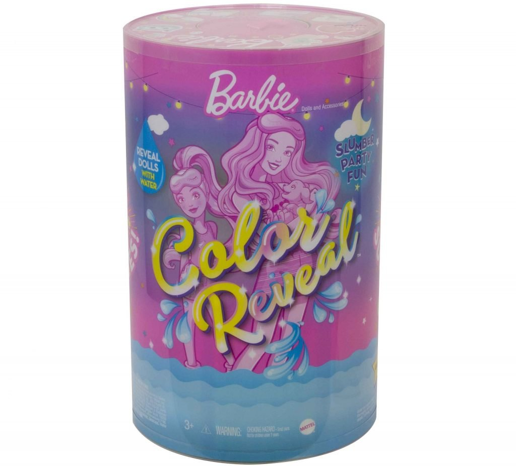 Barbie Color Reveal Slumber Party Fun