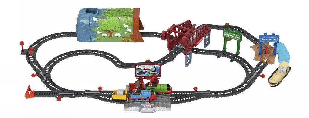 Fisher-Price Thomas & Friend Talking Thomas & Percy Train Set