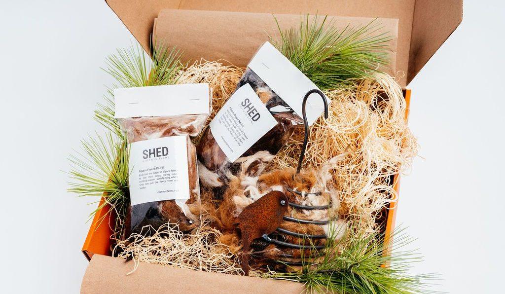 Fleece Feeder Holiday Birders Box