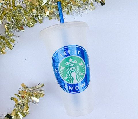 Starbucks Let It Snow cup