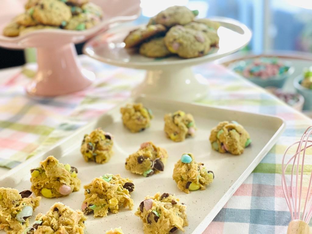 mini-egg cookies