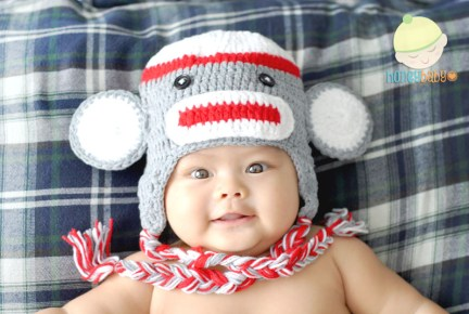 Baby with Hoot Hat