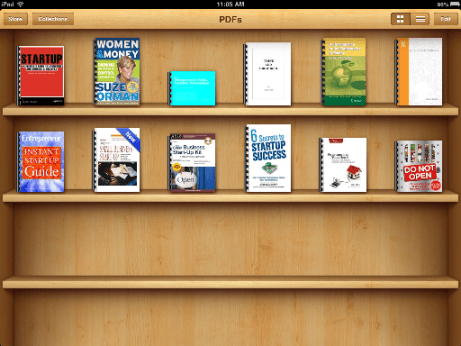 My collection in my IPAD :)