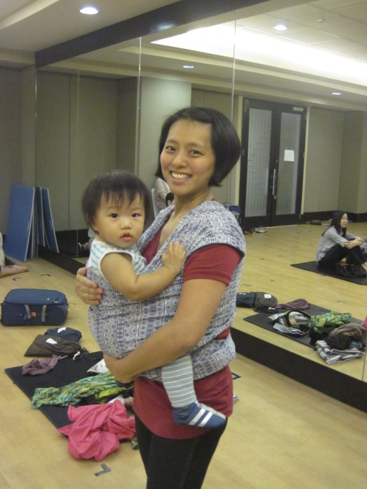Jenny with Baby Erik