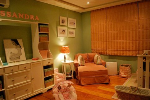 Cool and relaxing nursery for Allessi