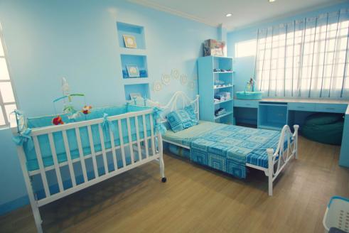 Ethan's Blue Nursery