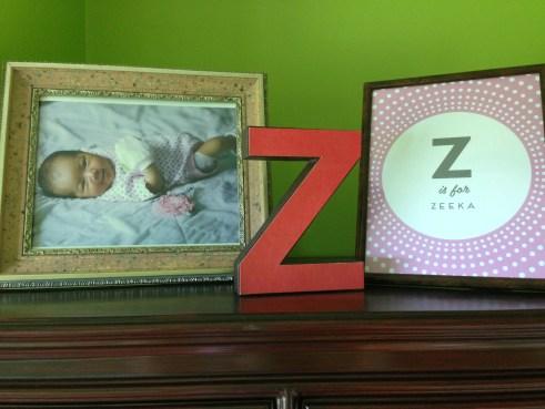 Details inside Zeeka's Room