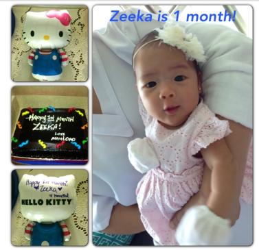 Zeeka One Month 1